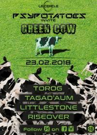 Psypotatoes invite Green Cow