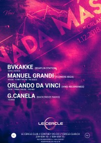 Nada Mas   Bvkakke • Orlando Da Vinci • Electroshocks • G.Canela