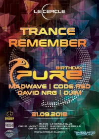 Trance Remember 'DJ Pure Birthday'
