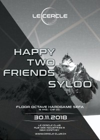 Le Cercle - Happy Two Friends Syloo