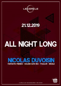 All Night long : Nicolas Duvoisin