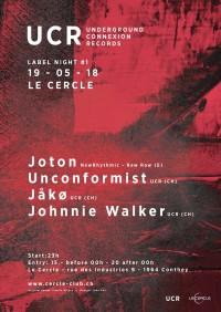 Underground Connexion records - Label Night #1 w/ Joton