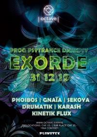 Exorde - Prog Psytrance Darkpsy Techno