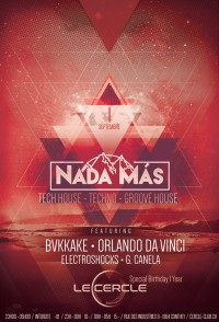 Nada Mas | Bvkakke • Orlando Da Vinci • Electroshocks • G.Canela
