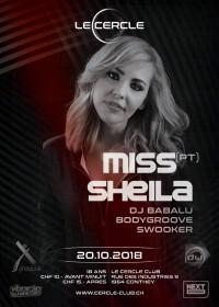 Le Cercle - Bodygroove invite Miss Sheila (PT)