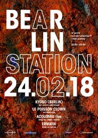 Bear'lin Station 8.0 - Kyoso (Berlin)